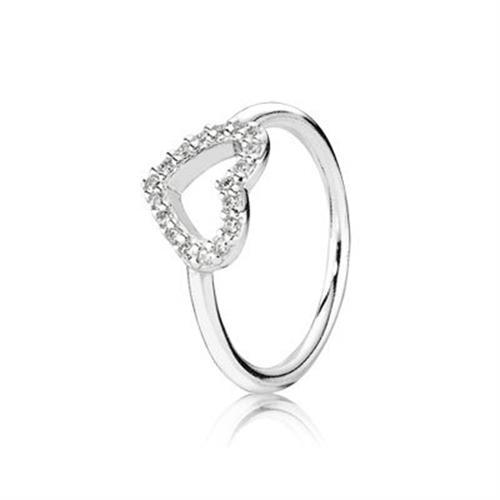 טבעת כסף פנדורה 190816CZ