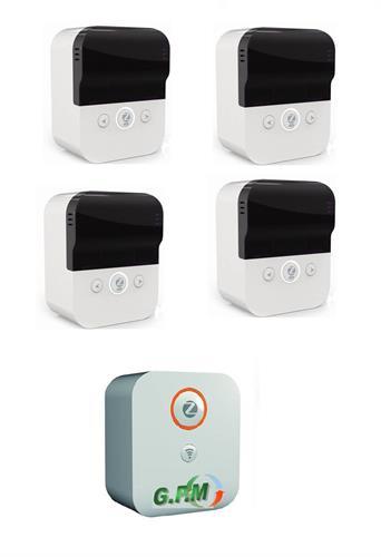 בסוטו בריבוע -קיט שידרוג ארבעה מזגנים למזגנים חכמים WiFi +יחידת נתב חכם