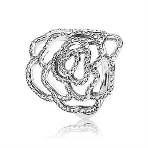 טבעת כסף פנדורה 190950CZ