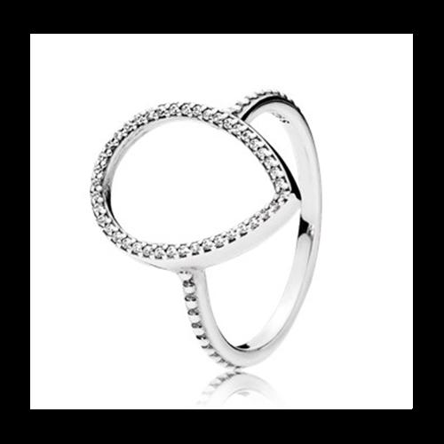 טבעת כסף פנדורה 196253CZ