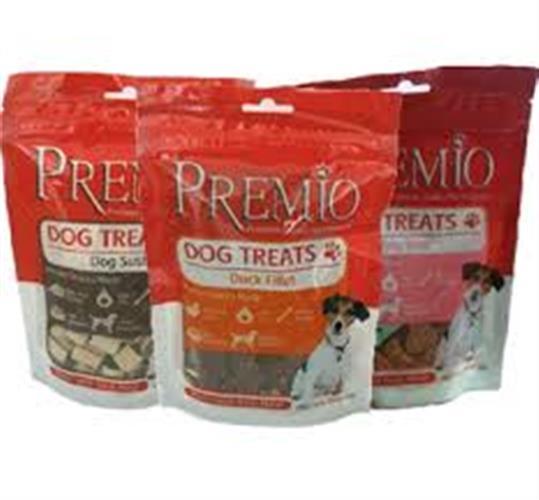חטיף פרמיו לכלבים במגוון טעמים