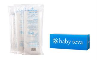 תחבושת מגנזיום להקלה על תפרים לאחר לידה - 3 יחידות במארז