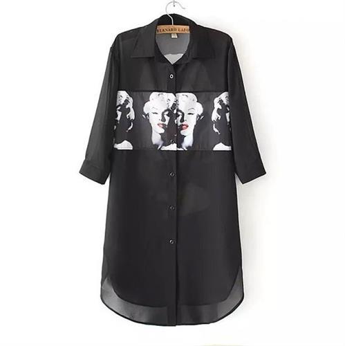 חולצה טוניקה מעוצבת דגם מרלין