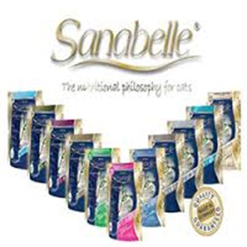 """מזון יבש לחתולים ללא דגנים סנבל (Sanabelle) - גורים/עוף/דגים/סנסיטיב/יורינרי/סניור 2 ק""""ג!"""
