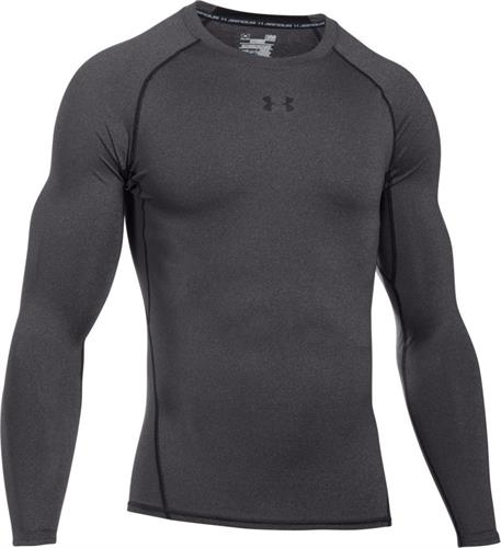 חולצה אנדר ארמור שרוול ארוך לגבר 1257471-090   Under Armour Compression s long sleeve shirt