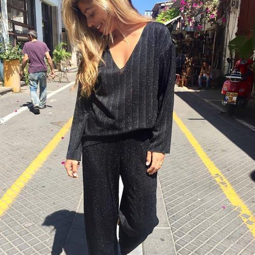 חליפת ג'ולי שחור