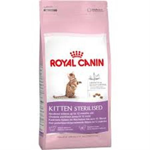"""רויאל קאנין חתול קיטן מסורס/מעוקרת 4 ק""""ג"""