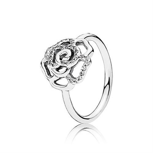 טבעת כסף פנדורה 190949CZ