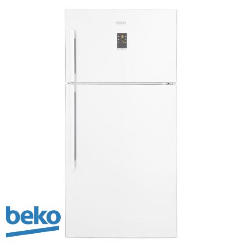beko מקרר מקפיא עליון 558 ליטר דגם: DN-162220W צבע לבן