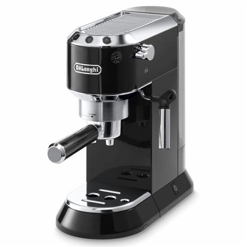 DeLonghi Coffee מכונת אספרסו ידנית מקצועית – פודים וקפה טחון דגם: DEDICA EC680.BK