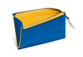 COIN PURSE ELECTRIC BLUE \YELLOW
