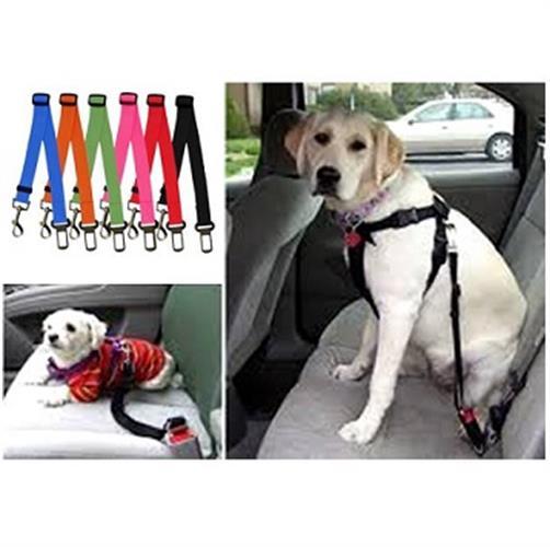 רצועת בטיחות לרכב לכלב