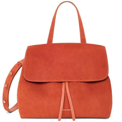 SUEDE LADY BAG CAMELLO