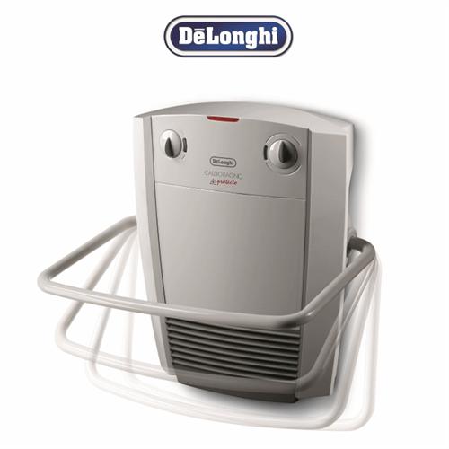 DeLonghi מפזר חום לאמבטיה כולל מתלה למגבת דגם HWB-5030WH