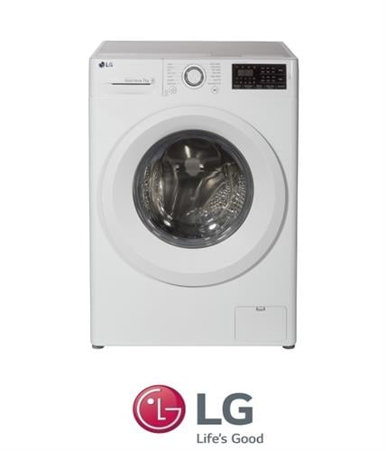 "LG מכונת כביסה 7 ק""ג  דגם F-0712WW"