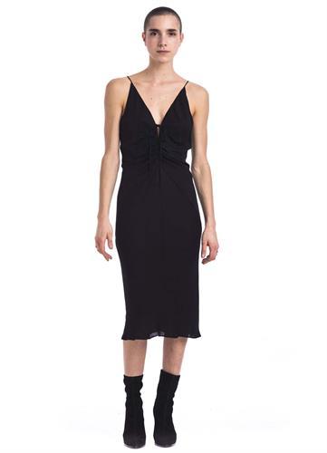 GEORGETTE FRONT T DRESS