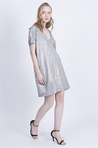 שמלת טארה כסף