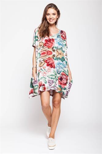 שמלת סמבה פרחונית