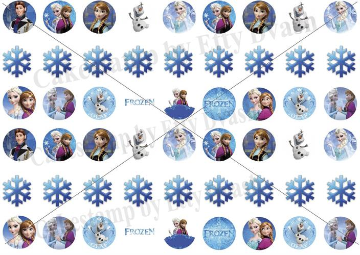 Frozen Transfer sheet