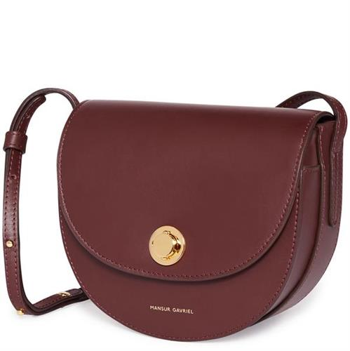 MINI SADDLE BAG CALF