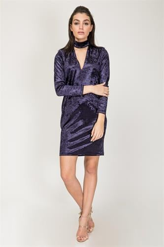 שמלת גס כחול