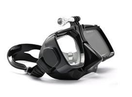 מסכת צלילה איכותית עם חיבור לגופרו ומצלמות אקסטרים