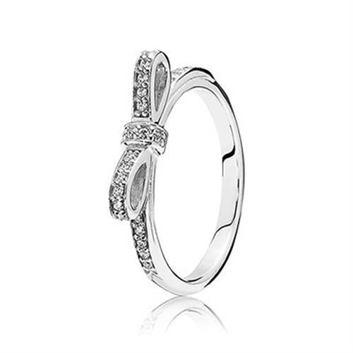 טבעת כסף פנדורה 190906CZ