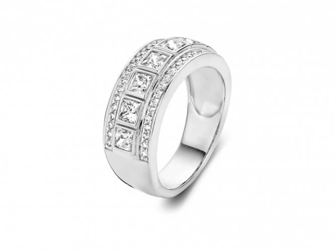 טבעת כסף 925 R6317-W