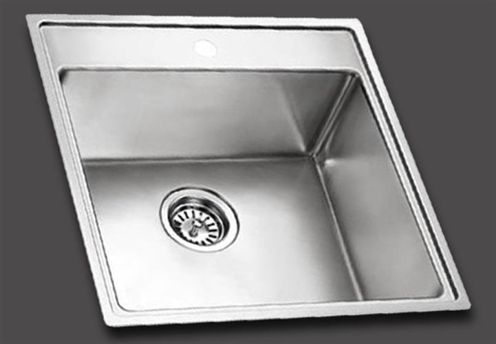 כיור מטבח יחיד תוצרת אולין דגם קווין