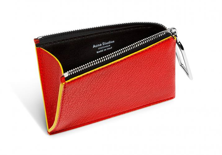 COIN PURSE RED \BLACK