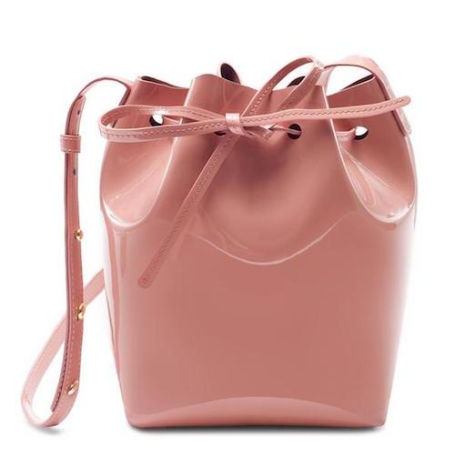 PATENT MINI BUCKET BLUSH