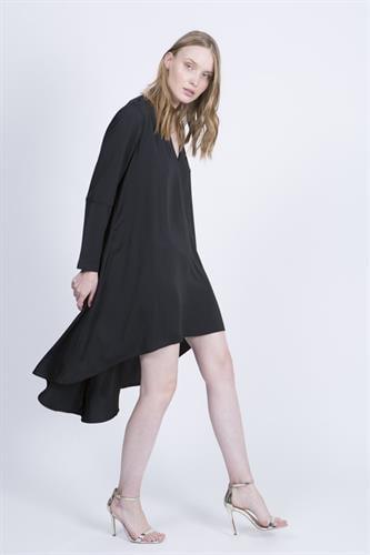 שמלת סלינה שחורה