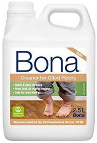 מנקה פרקט בגימור שמן BONA Cleaner for oiled floors