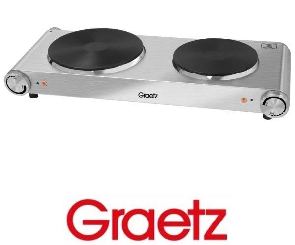 Graetz כירה בישול זוגית נירוסטה  דגם: GR-275S