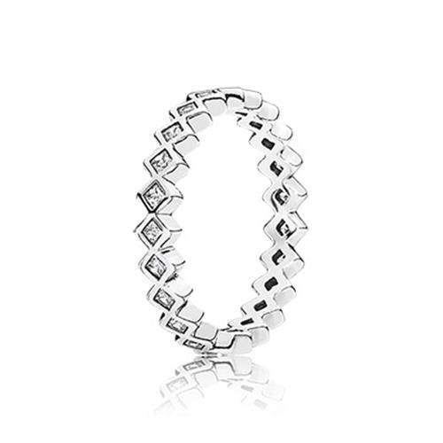 טבעת כסף פנדורה 190944CZ