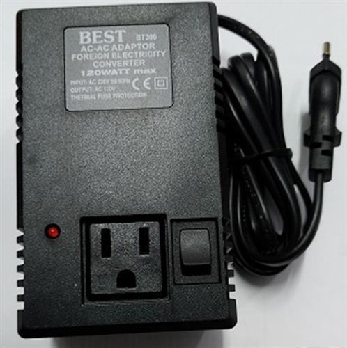 שנאי חשמל 110 ל 220  120W BEST
