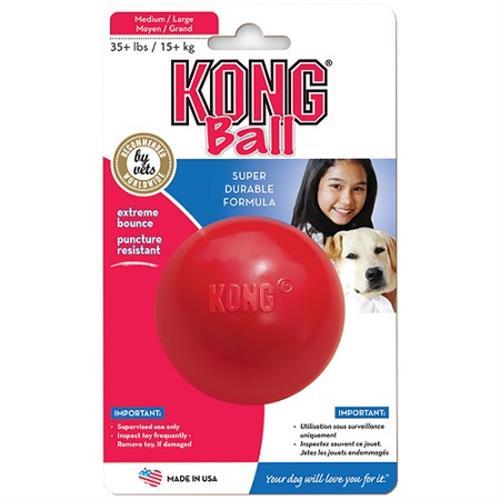 כדור גומי קונג להחבאת חטיפים