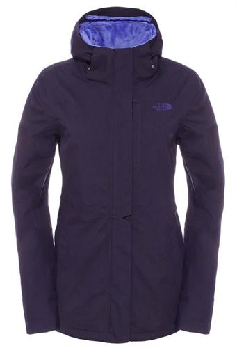 מעיל נשים נורט פייס מדגם The North Face Women's Inlux Insulated jacket garnet purple