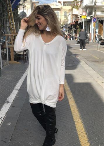 שמלת אלכסה לבנה