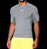 חולצת אימון קצרה אנדר ארמור לגבר 1260044-064  Under Armour Men's HeatGear® Compression Shirt