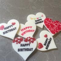 Hearts for stencil mat Transfer sheet