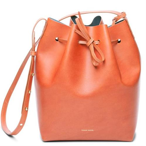BUCKET BAG BRANDY