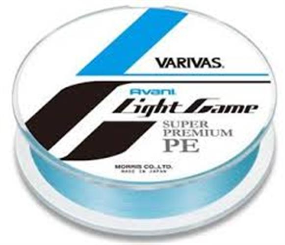 Varivas Avani Light Game Super Premium PE 150m # 0.4 / 8.5lb