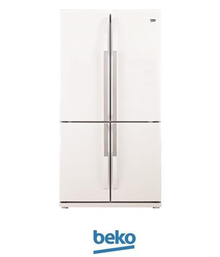 beko מקרר 4 דלתות 552 ליטר דגם GNE104611W מתצוגה !
