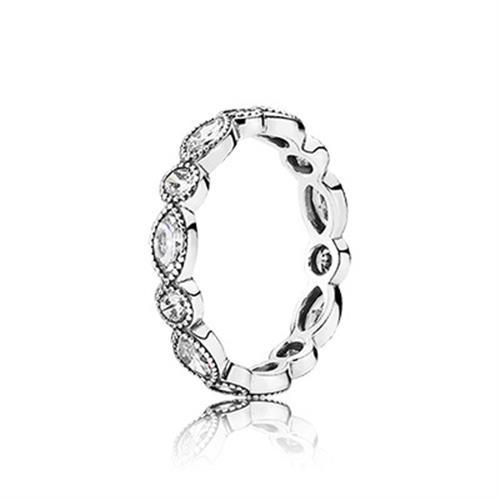 טבעת כסף פנדורה 190940CZ