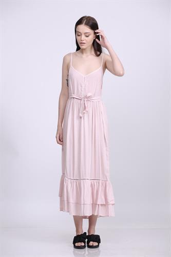 שמלת דולי ורודה