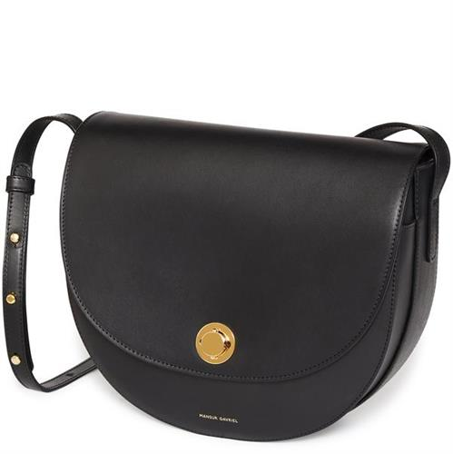 TANNED SADDLE BAG BLACK