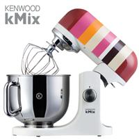 KENWOOD מיקסר kMix מיקסר בסדרה פסים אדום  דגם: KMX-84