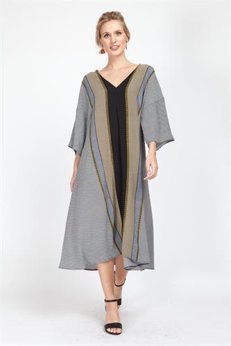 שמלת מיראז' בורדורה חרדל
