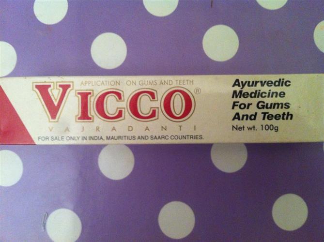 vicco - משחת שניים איורוודית 100גרם